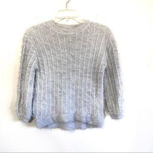 Zara eyelash knit soft cozy sweater top